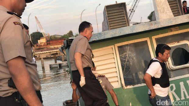 Sebelum Dibawa ke Anyer, Sabu 1 Ton Diduga Diturunkan di Sekitar Pulau