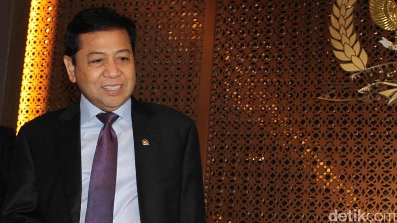 Novanto akan Bersaksi di Sidang Andi Narogong Jumat Besok