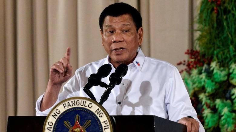 Duterte Sebut Kim Jong-Un Bodoh dan Bajingan