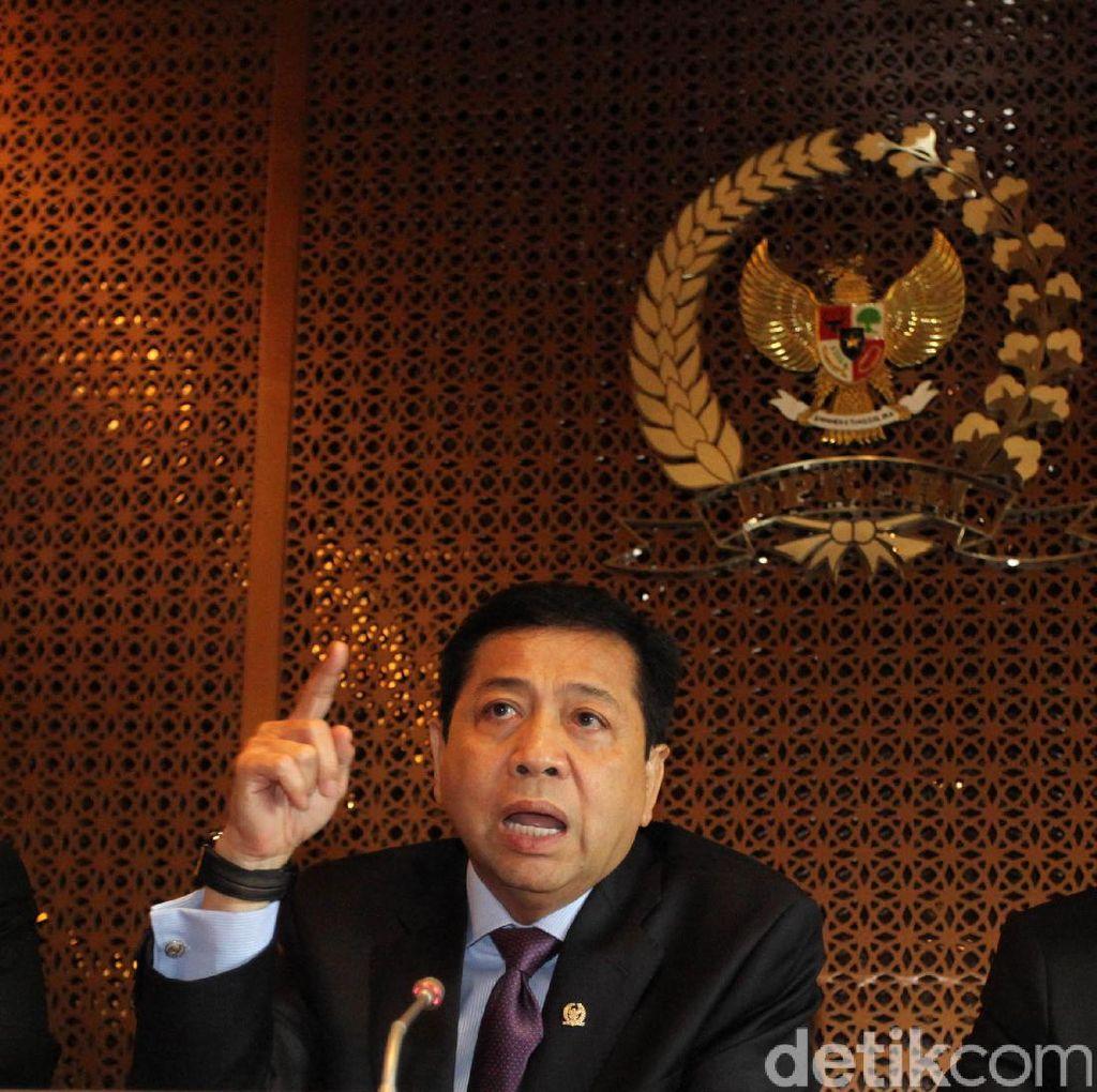 Kata Fadli Zon soal Bungkamnya Novanto di Sidang Perdana