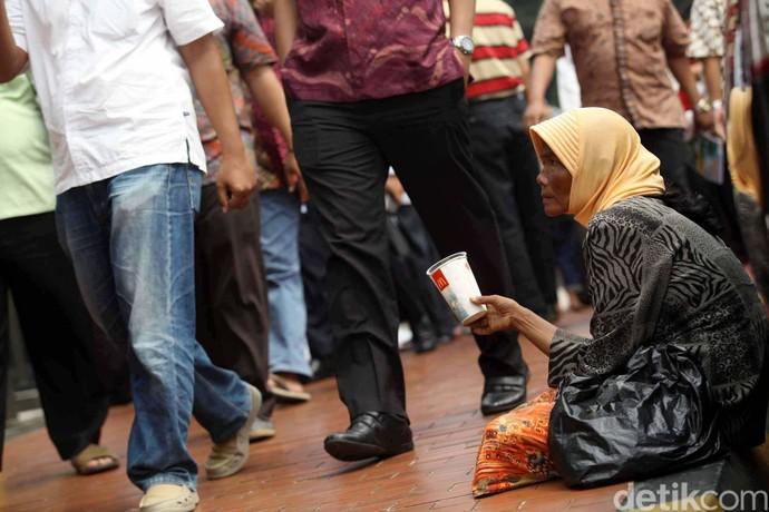 Foto: Miris, Angka Kemiskinan Makin Meningkat