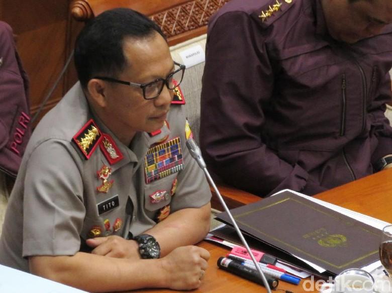 Kapolri Mengaku Paham Alasan Pelaku Penyerangan Kantor Kemendagri