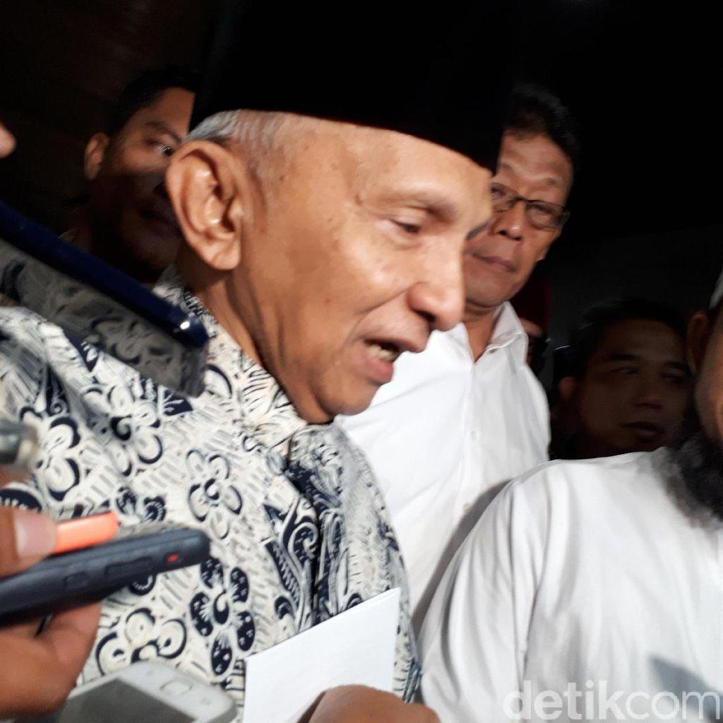Amien Rais: Jangan Gunakan KPK untuk Kejar Lawan Politik!