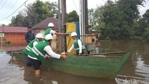 83 Persen Listrik Sudah Dipulihkan Pasca Banjir Belitung Timur