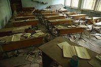 Ruang kelas yag ditinggalkan begitu saja