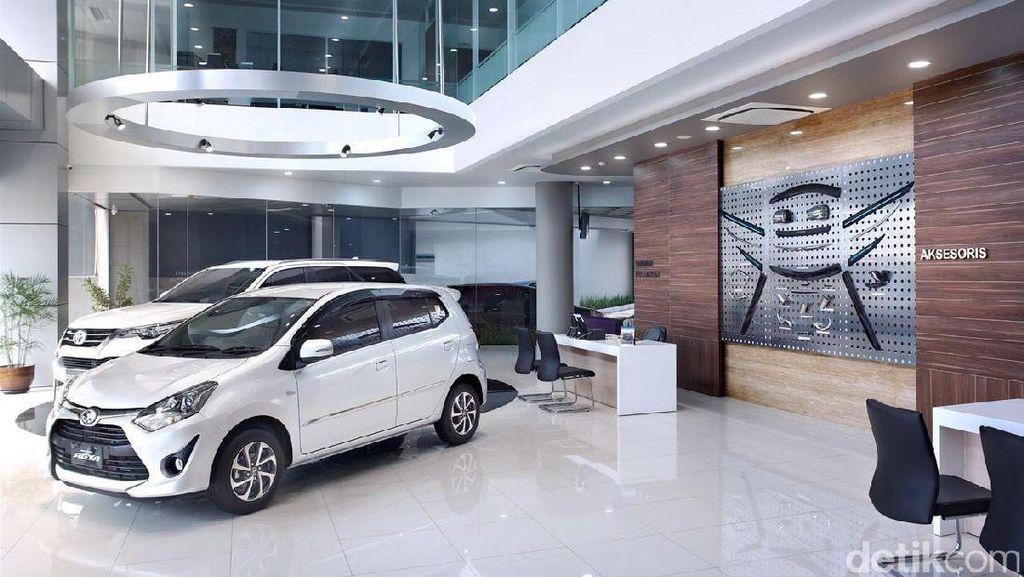 Diler Anyar Toyota di Kota Hujan