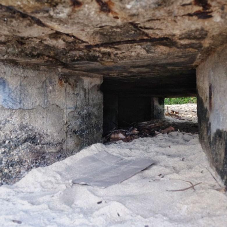 Begini Eksotisnya Benteng Pertahanan Wasile di Halmahera