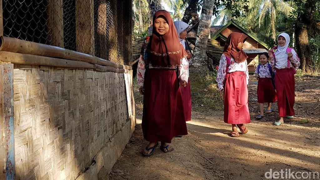 foto: Tak Hanya di Belitung, Pandeglang Juga Punya SD Laskar Pelangi