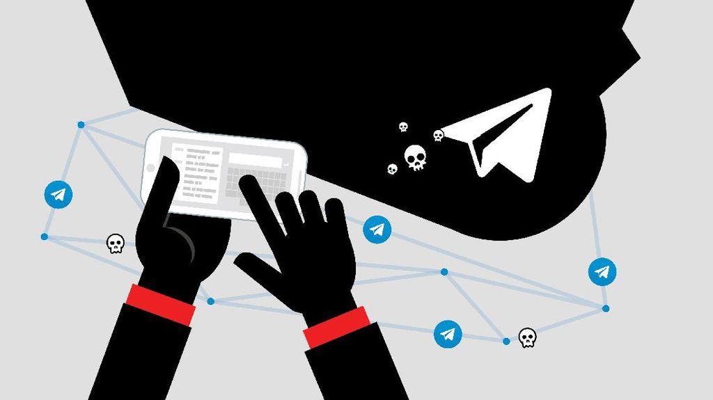 6 Materi Utama yang Dibahas Teroris di Telegram