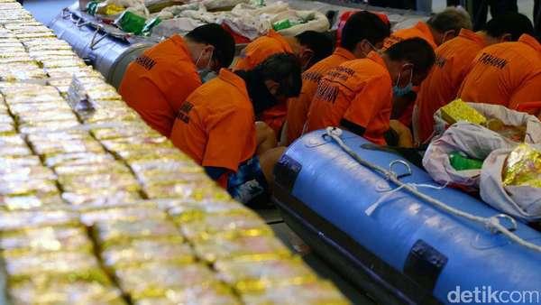 Polisi Gelar Rekonstruksi Penyelundupan 1 Ton Sabu di Anyer Besok