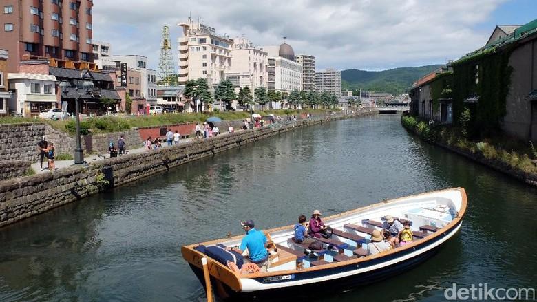 Suasana pagi nan romantis dari Kota Otaru, Jepang (Baban/detikTravel)