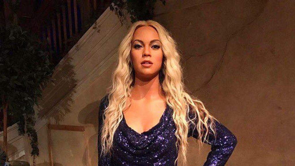 Netizen Protes Patung Lilin Beyonce Mirip Artis Lain dan Kulitnya Jadi Putih