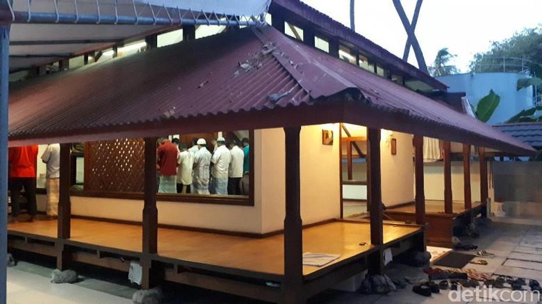 Foto: Inilah masjid di dalam Club Med Kani Maldives (Afif/detikTravel)