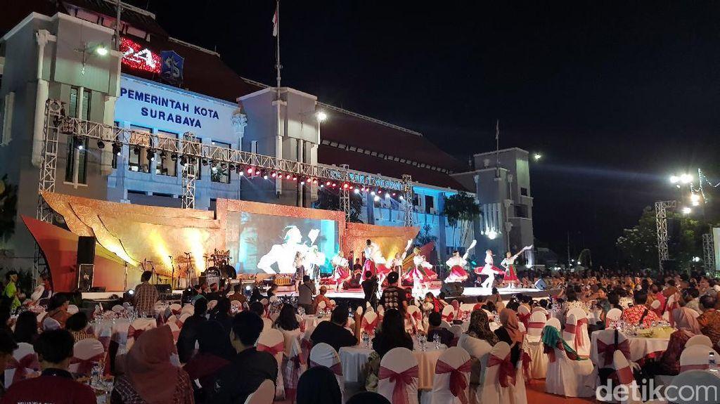 Tutup Cross Culture Festival, Risma Sebut Surabaya Kota Seni