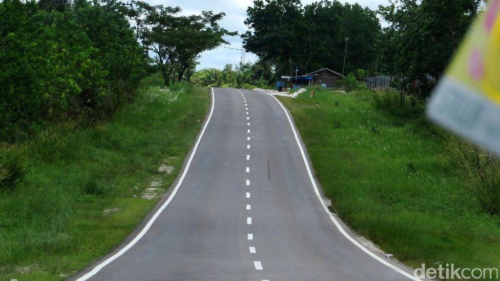 Foto: Menyusuri Jalan Menuju Calon Ibu Kota RI