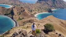 Riang dan Gembiranya Sri Mulyani Melihat Alam Komodo