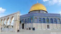 Dome of The Rock, yang sering disangka Masjid Al Aqsa (Erwin/detikTravel)