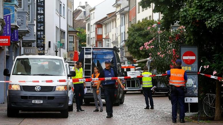 Serangan Gergaji Lukai 5 Orang, Polisi Swiss: Bukan Aksi Teror