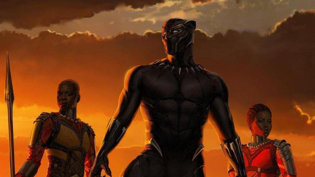 Black Panther Rilis Poster yang Lebih Intim