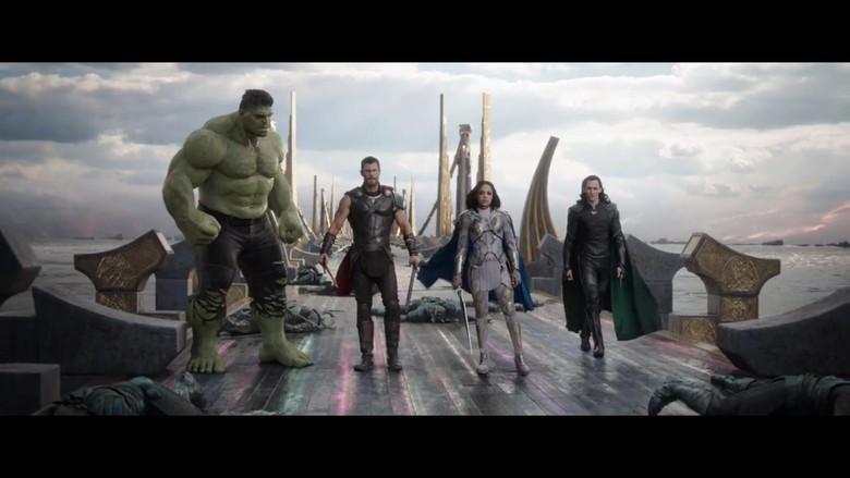 Peta Hubungan Thor dan Loki di Thor: Ragnarok