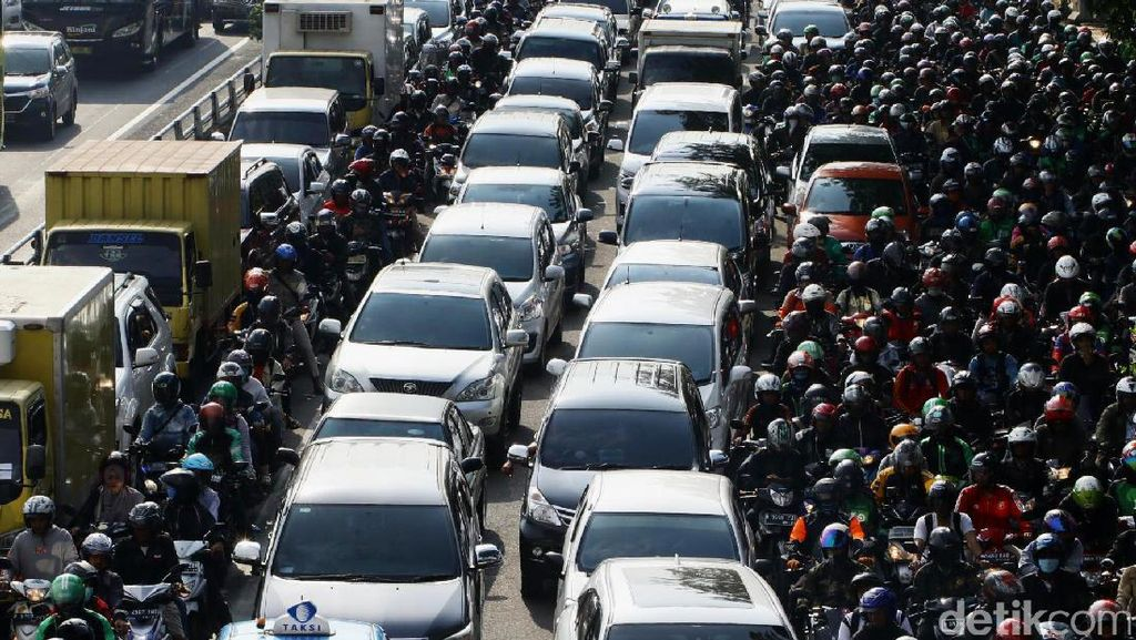 Foto : Ini Proyek Infrastruktur yang Bikin Jakarta Macet.. cet.. cet...