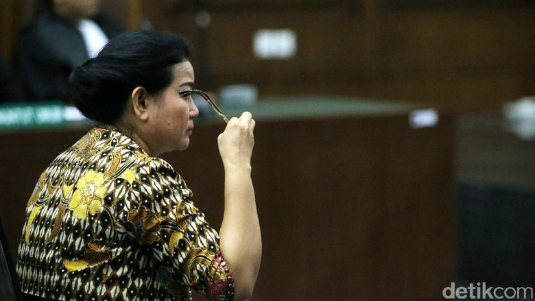 Dituntut 8 Tahun Penjara, Ini Respons Miryam Haryani