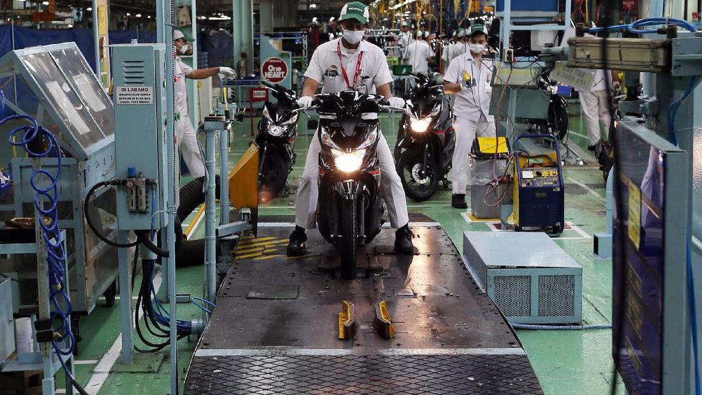 Ekspor Motor Buatan Indonesia Diperkirakan Sampai 400.000 Unit