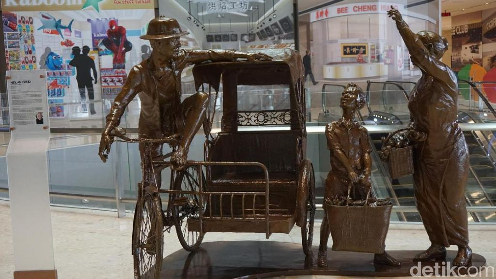 Terminal 4 Bandara Changi yang Baru, Seperti Bukan Bandara