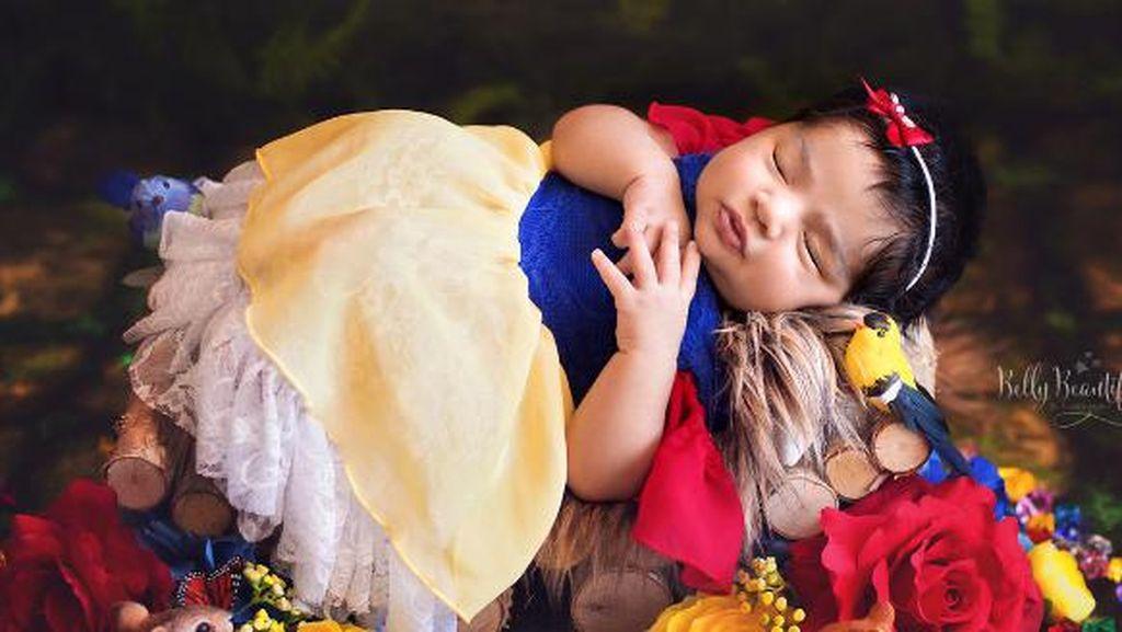 Foto: Gemas Maksimal! Saat Bayi Baru Lahir Jadi Putri Disney