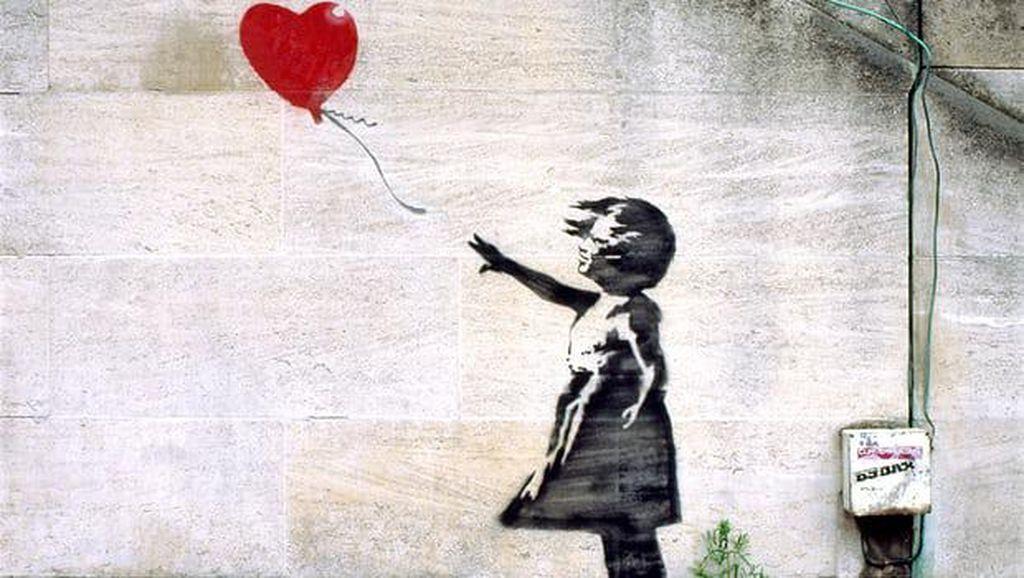 Banksy Segera 'Bombardir' Selandia Baru Tahun Depan