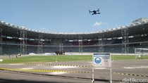 Akhir Juli, Renovasi Stadion Utama GBK Capai 78%