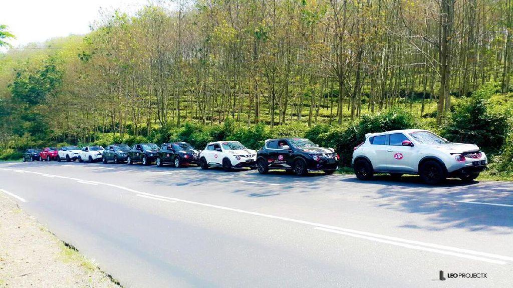 Pecinta Nissan Juke Keliling Jawa Tengah