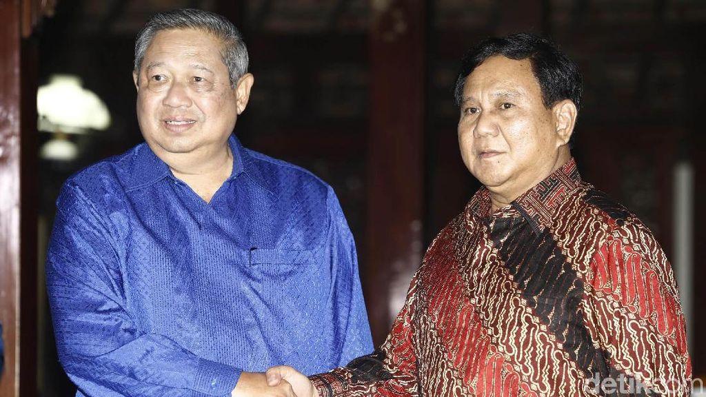 Usung Sudrajat, Prabowo akan Komunikasi Bahas Cawagub Bareng SBY