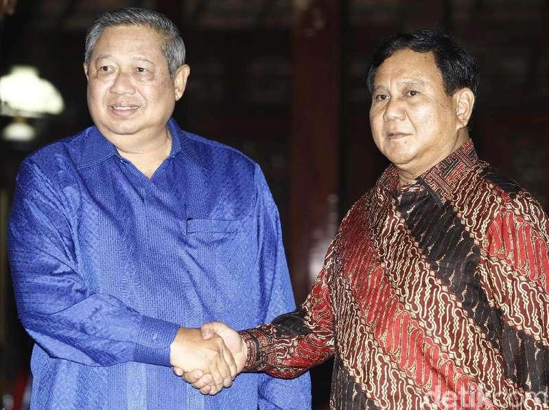 Saling Serang Elite Gerindra vs PD soal Prabowo dan SBY