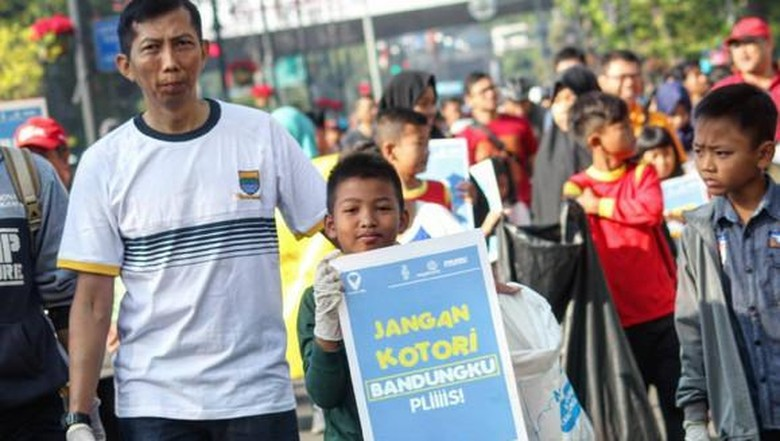Aksi pungut sampah dan kampanye oleh Clean Action (cleanaction/Instagram)