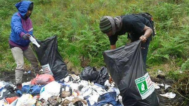 Semua pihak pun harus terlibat dan peduli (dok Trashbag Community)