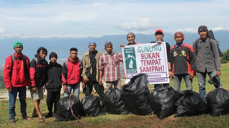 Gerakan Trasbag Community (dok Trashbag Community)
