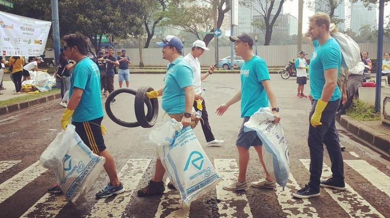 Foto: (dok Clean Up Jakarta Day)
