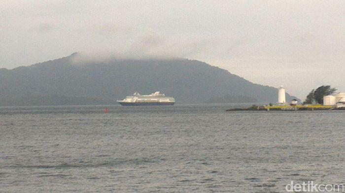 Foto: Kapal pesiar (Agus-detikcom)