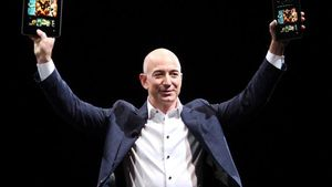 Jeff Bezos Salip Bill Gates