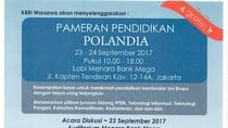 KBRI Warsawa Gelar Pemeran Pendidikan Polandia di Jakarta