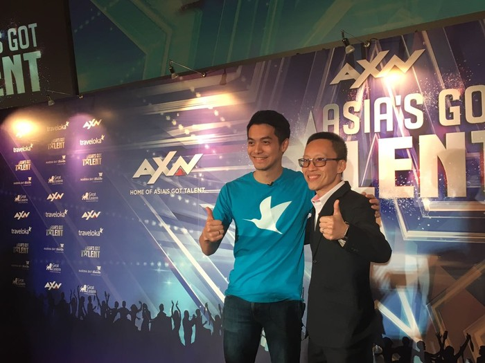 Traveloka jadi sponsor Asias Got Talent. Foto: Ibad
