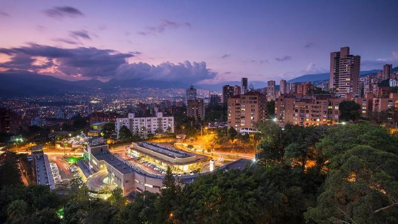 Kota Medellin, kampung halaman Daniela Ospina, yang cantik tapi berbahaya (Thinkstock)