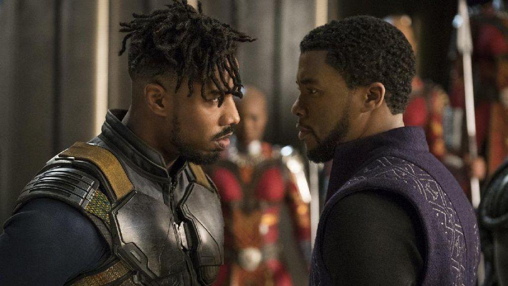 Aksi Raja TChalla Bela Negara di Trailer Black Panther
