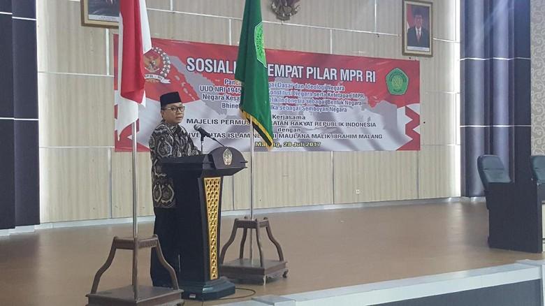 Ketua MPR: Laksanakan Ajaran Agama dengan Baik Itu Pancasilais