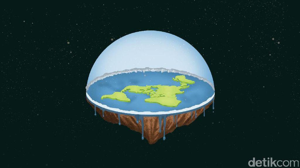 Membayangkan Hidup di Bumi Datar