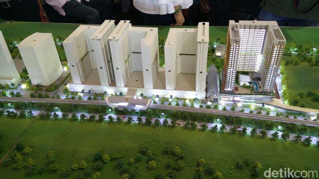 Apartemen Dekat LRT Juga Dibangun di Bekasi dan Ciracas