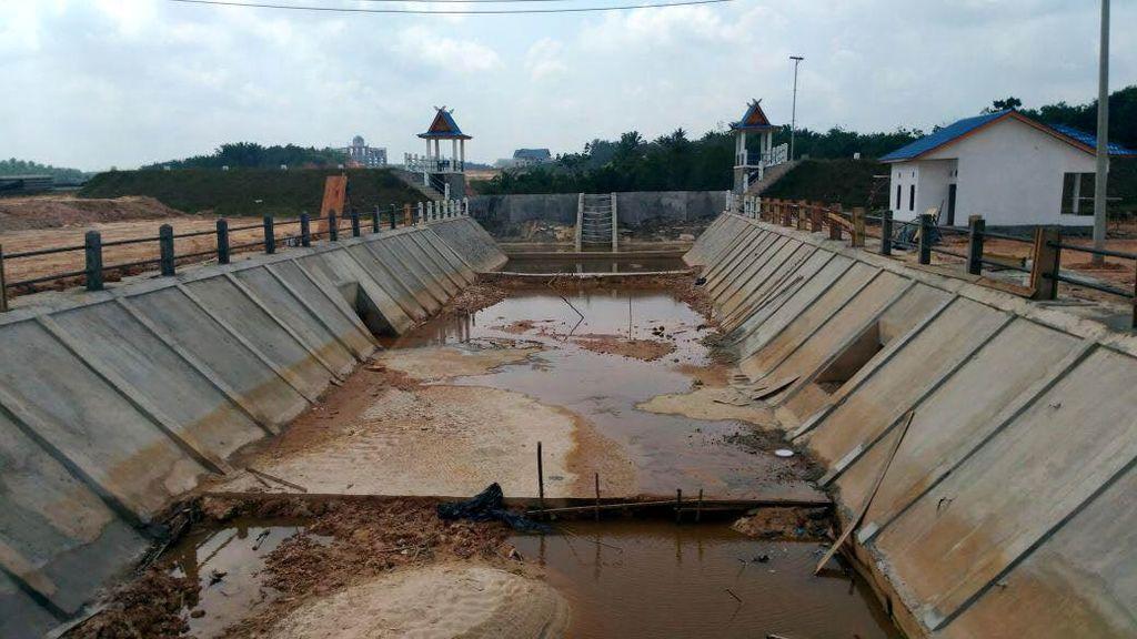 Atasi Banjir di Riau Pakai Cara ini