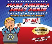 Yummy! Manis Kenyal Permen Jelly Bentuk Donald Trump