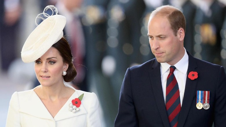 Putri Kate Middleton dan Pangeran William (Foto: Chris Jackson - Pool/Getty Images)